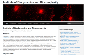Institute Biodynamics Biocomplexity