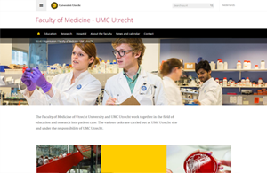 UMC UU Faculty of Medicine 300X195
